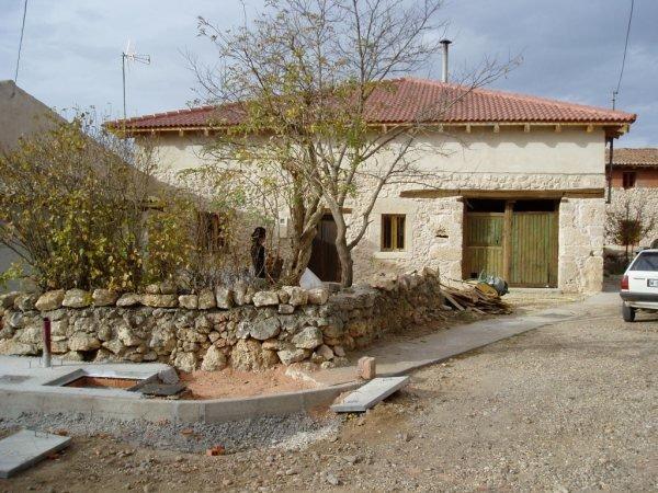 Casa de pueblo restaurada