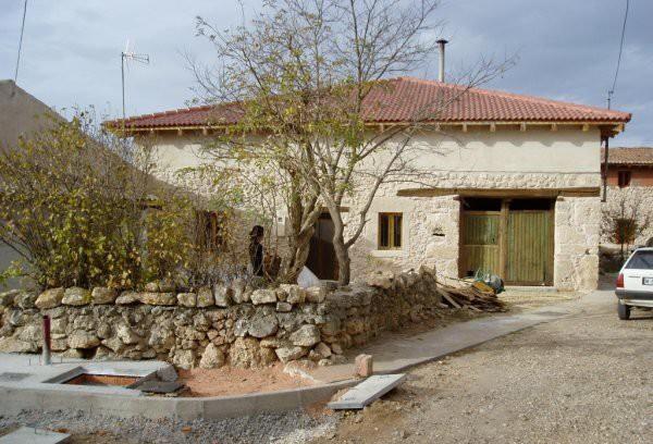 Casa restaurada y reformada