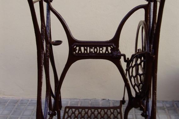 Máquina de coser restaurada